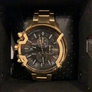 Diesel Men's Gold-Tone Stainless Steel Watch